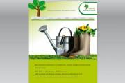 Záhradníctvo SADEX – webstránka