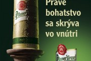 Reklama na pivo Pilsner Urquell